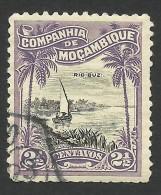 Mozambique Company, 2 1/2 C. 1918, Scott # 115, Used - Mozambique