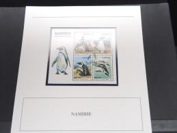 NAMIBIE - Bloc Luxe Avec Texte Explicatif - Belle Qualité - À Voir -  N° 11666 - Namibie (1990- ...)