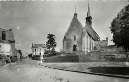 - Indre Et Loire - Ref - A475 - Francueil - Place De L Eglise - Carte Bon Etat - - France
