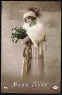 Jeune Femme  - Circulé - Circulated - Gelaufen - 1910. - Femmes
