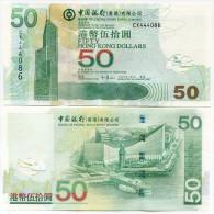 Hong Kong 50 Dollars 2009 Pick 336 UNC - Hong Kong