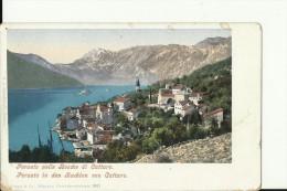 CG459   --   BOCCHE DI CATTARO   --  PERASTO   ---  2 X SCAN - Montenegro