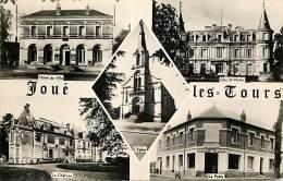 - Indre Et Loire - Ref - A472- Joue Les Tours - Souvenir De .. - Carte Multi Vues - Dont Poste - Postes -carte Bon Etat - France