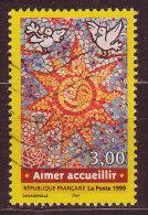 FRANCE - 1999 - YT  N° 3255  - Oblitéré - Aimer , Accueillir - Frankreich