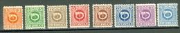 Österreich Mi. 722 + 724 + 728 Bis 733 Ungebraucht Posthorn - 1945-60 Ungebraucht