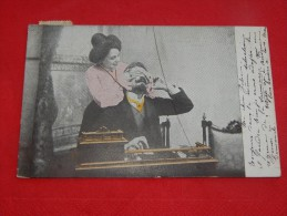 COUPLES  -  Couple  D´amoureux   -  1905    - (2 Scans) - Coppie