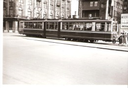 Photo Originale-Foto Tram Strassenbahn Tramway-Dortmund-Innenstadt-Stahlhaus-Löwenhof-Capitol-Kino? +/-1960? - Trains