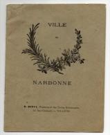 11 - Narbonne  - Cahier D'écolier - Ville De Narbonne - Bambini