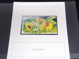 NIUAFOYOU - Bloc Luxe Avec Texte Explicatif - Belle Qualité - À Voir -  N° 11674 - Niue