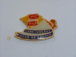 Pin's CERF VOLANT CLUB DE FRANCE - Associations