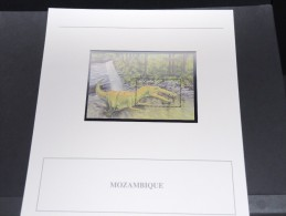 MOZAMBIQUE - Bloc Luxe Avec Texte Explicatif - Belle Qualité - À Voir -  N° 11681 - Mozambique