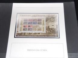 TRISTAN DA CUNHA - Bloc Luxe Avec Texte Explicatif - Belle Qualité - À Voir -  N° 11685 - Tristan Da Cunha