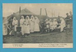 CPA Un Poste De La Croix Rouge à La Gare D'AUBERVILLIERS - RED CROSS (93) - Aubervilliers