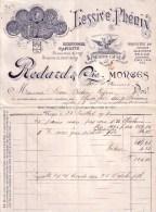 SUISSE - MORGES - LESSIVE PHENIX - MARQUE PHOENIX LAUGE - REDARD & CIE - 1905 - Suisse