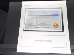 TRISTAN DA CUNHA - Bloc Luxe Avec Texte Explicatif - Belle Qualité - À Voir -  N° 11688 - Tristan Da Cunha