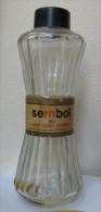AC - SEMBOL LEMON FLOWER PARFUME COLOGNE EMPTY VINTAGE BOTTLE FROM TURKEY - Perfume Miniatures
