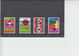 OLANDA 1972 - Unificato  954/57** - Floriade - Vegetazione