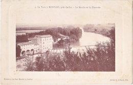 81. Le Tarn à MONTANS, Près Gaillac. Le Moulin Et La Chaussée. 4 - Altri Comuni