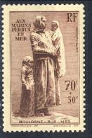 Francia 1939 N. 447 C. 70+30 Monumento Ai Marinai Dispersi MNH GO Catalogo € 35 - Francia