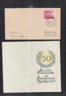 Dt. Reich Brief Iserloh 1945 - Germany