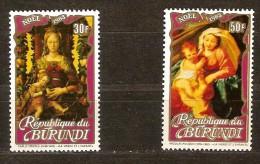 Burundi 1983 OCBnr 912-913 Yvert 884-885 *** MNH   Noel Kerstmis Christmas - 1980-89: Neufs