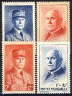 Francia 1940 - 41 Serie N. 470-473 Maresciallo Petain MNH GO Catalogo € 3,30 - Francia