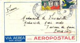 Brésil Lettre Par AAvion - Kommerzielle Luftfahrt