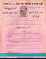 Pub Reclame - Comment Se Vend Un Brevet D'invention Edition 1937 - Vieux Papiers