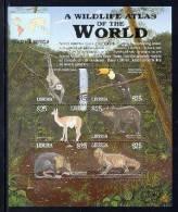 LIBERIA  2179 M   MINT NEVER HINGED MINI SHEET OF WILDLIFE & ANIMALS ; SOUTH AMERICA  (  0425 - Zonder Classificatie