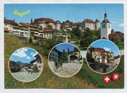 SWITZERLAND - AK 263843 Gruyères - FR Freiburg