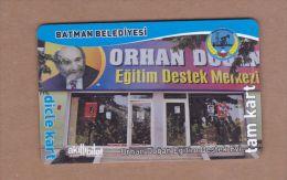 AC- MULTIPLE RIDE BUS PLASTIC CARD BATMAN, TURKEY PUBLIC TRANSPORTATION - Titres De Transport