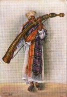 ARABO DI LAMU-KENIA AFRICA-NAIROBI-VIAGGIATA X ROMA-CARTOLINA BEN CONSERVATA-2 SCAN- - Costumi