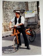 Provins Photo Véritable (non CP ) Seine Et Marne 77 - Fête De La Moisson ? Défilé Costumes Vélo - Provins