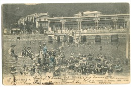 CROATIA - OPATIJA / ITALY - ABBAZIA / 1904 Im Slatinabade Very Animated Swimmingpool - Croatia