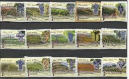 Italia 2013, Made In Italy: Vini (o), Serie Completa - 6. 1946-.. Repubblica