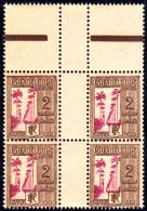 GUADELOUPE - Taxe N° 25 - Bloc De 4 Sans Millésime - Luxe - Guadeloupe (1884-1947)