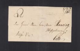 Faltbrief 1822 Hildesheim - Duitsland