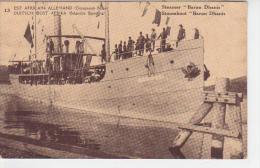 "COB.089/ Congo Belge - Steamer ""Baron Dhanis"" - Entier Postal - Congo Belge - Autres"
