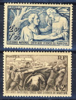Francia 1941 Serie N. 497-498 Pro Soccorso Nazionale MNH GO Catalogo € 14,35 - Unused Stamps