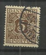 1921 USED Danmark,  Porto - Portomarken