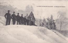 CPA (90) BALLON D' ALSACE La Baraque Des Douanes Douaniers - Francia