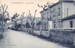 CPA 34 CABRIERES UNE DES ECOLES - France
