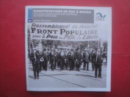 01/ MANIFESTATIONS DE RUE A ROUEN DES FETES JEANNE D ARC // DU FRONT POPULAIRE  Fascicule Ou Livret De 27 Pages - Cartes Postales