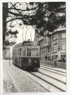TRAIN - TRAMWAY - GENEVE - Motrice Ce 4/4 727- - PLACE CLARPARÈDE - Verso - Tramways
