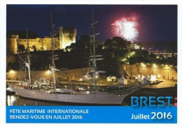 B  - 8 - Fêtes Maritimes Internationales BREST 13  19 Juillet 2016 - Voiliers