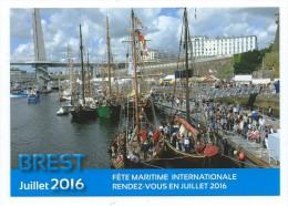 B  - 9 - Fêtes Maritimes Internationales BREST 13  19 Juillet 2016 - Voiliers