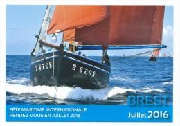 B  - 10 - Fêtes Maritimes Internationales BREST 13  19 Juillet 2016 - Voiliers