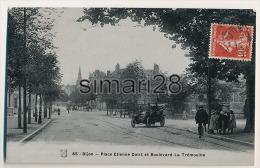DIJON - N° 65 - PLACE ETIENNE DOLET ET BOULEVARD LA TREMOUILLE - Dijon