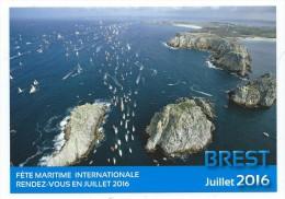 B  - 11 - Fêtes Maritimes Internationales BREST 13  19 Juillet 2016 - Voiliers