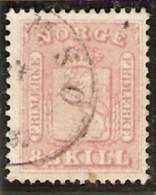 1863 Yvert 9 Obl - Norway